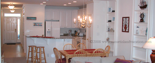 Sunset Island Ocean City MD - Condo High-End Kitchen
